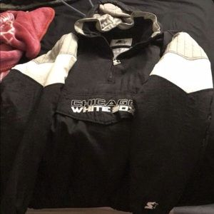 Vintage white sox sweater